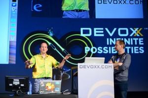Nicolas de Loof et David Gageot à Devoxx 2014